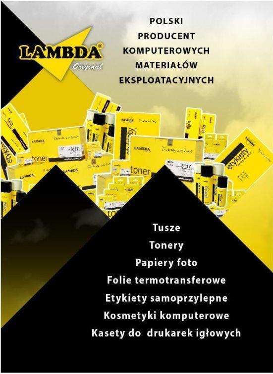 Ink Lambda black  210 pgs  HP