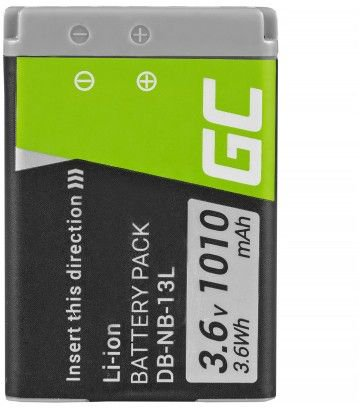Green Cell Digital Camera Battery for