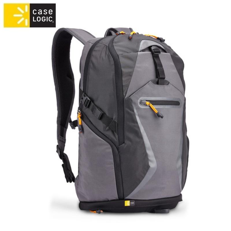 Case Logic BOGB115GY (Iekšējie 24.9x2.8x36.4cm) mugursoma portatīviem datoriem līdz 15.6