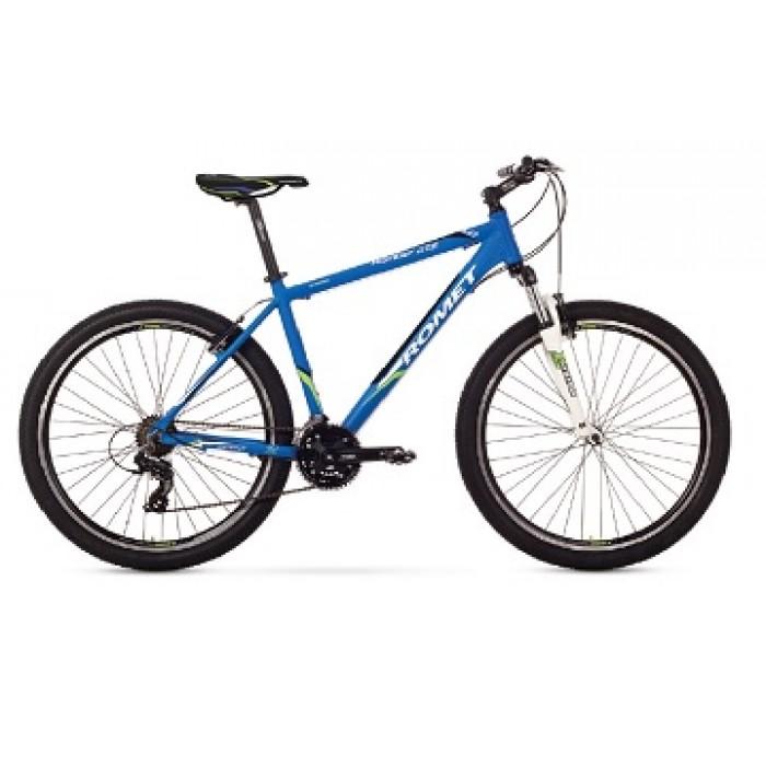 ROMET RAMBLER 27,5 1 MTB 21 R27.5 ZILS kalnu velosipēds MTB