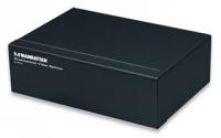 Manhattan video splitter VGA 1/2 350 MHz Pro black KVM komutators