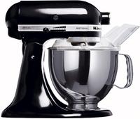 KitchenAid 5KSM150PSEOB Artisan Black Virtuves kombains