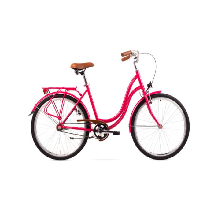 ROMET ANGEL 26 - 3 CITY 17-M R26 ROZĀ Pilsētas velosipēds