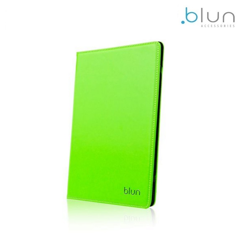 Blun UNT Universāls Eko ādas sāniski atverams maks ar stendu Tablet PC līdz 8