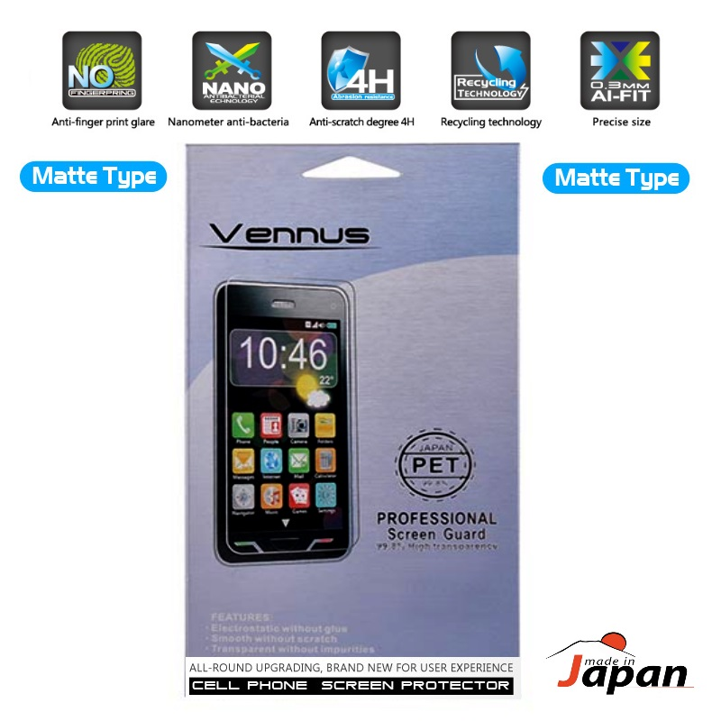 Vennus Matt Pro HD Quality LG L9 2 D605 Screen protector aizsargplēve ekrānam mobilajiem telefoniem
