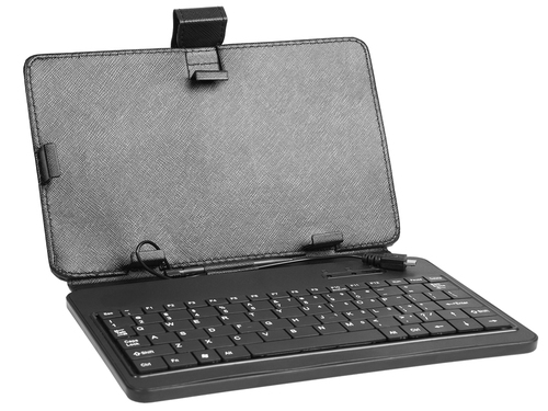 case for Tablet - Tracer 7'' Plastic  micro USB kayboard planšetdatora soma