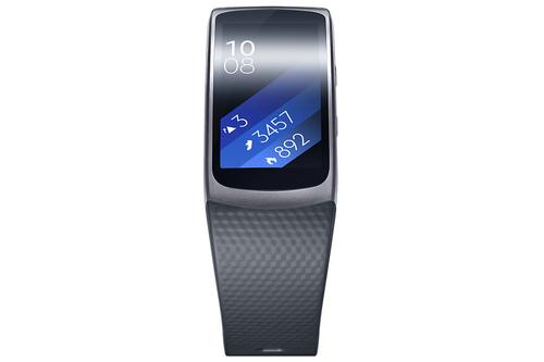 Samsung Gear Fit 2 (R360) small black sporta pulkstenis, pulsometrs