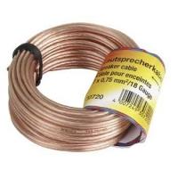 HAMA LOUDSPEAKER CABLE   2X0,75MM 15M kabelis, vads