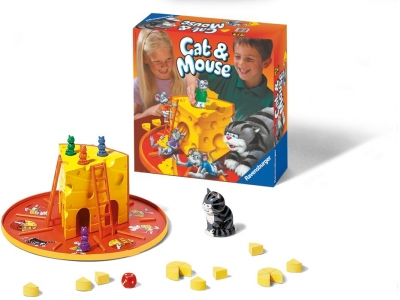 RAVENSBURG Kakis un pele(R21689) galda spēle
