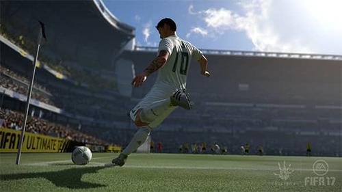 Microsoft Xbox One S 500GB + FIFA 17 spēļu konsole