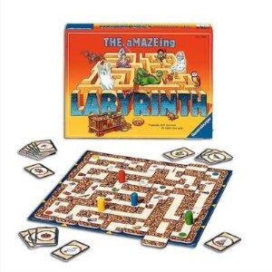 RAVENSBURG Labirints - trakais(R26498) galda spēle