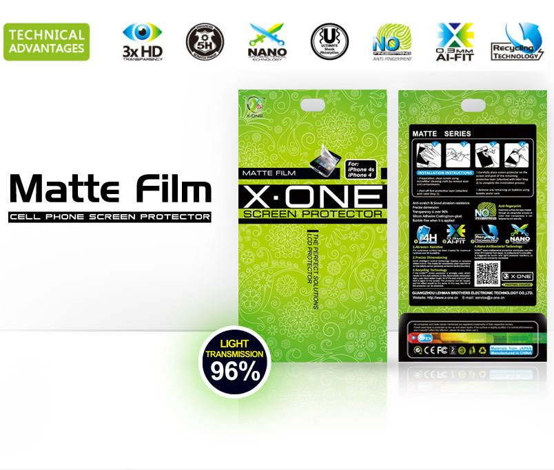 X-One Pro HD Quality HTC One Screen Protector aizsargplēve ekrānam mobilajiem telefoniem