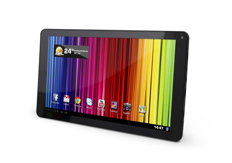 ESPERANZA 10.1 MX4 HD/ANDROID4.4.2/RAM-512MB DDR3/FLASH-4GB/1024x600HD/WI-FI Planšetdators