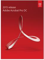 Adobe Acrobat DC 2015 Pro Student Edition WIN BOX ENG programmatūra