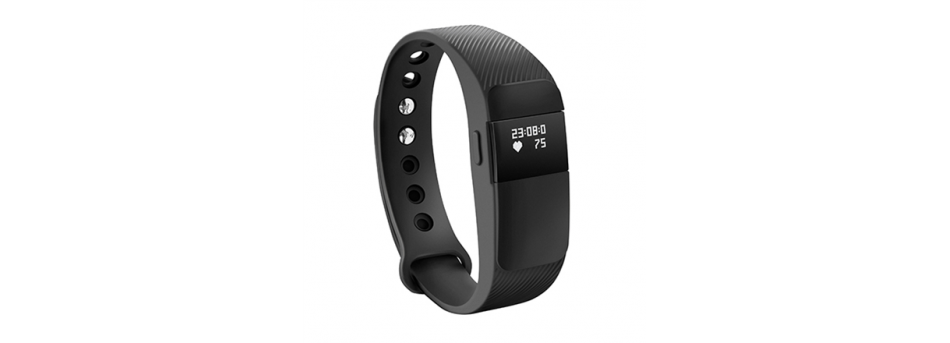 Acme Activity tracker ACT05; OLED, Black, Bluetooth, Built-in pedometer, Heart rate monitor, Waterproof, 120 g sporta pulkstenis
