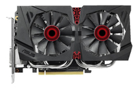 ASUS GeForce GTX 960 OC, 2GB GDDR5 (128 Bit), HDMI, DVI, 3xDP video karte