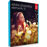 Adobe Photoshop Elements v15, MLP, English, Retail, 1 User programmatūra