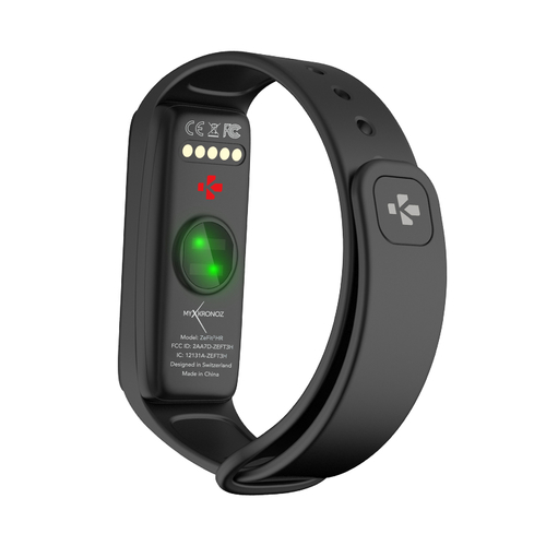 MyKronoz Zefit 3HR Smartwatch, Black, 100 mAh, Touchscreen, Bluetooth, Heart rate monitor, Waterproof sporta pulkstenis, pulsometrs