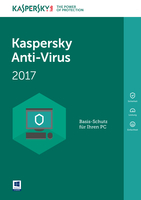 Kaspersky Anti-Virus 2017 (Code in a Box) FFP