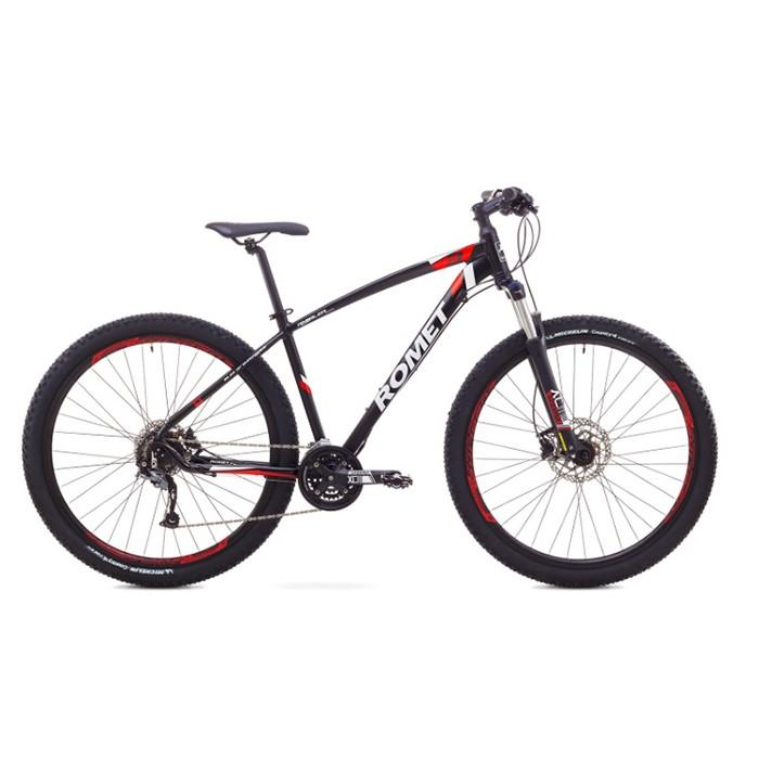 ROMET RAMBLER 29 3 MTB 18-L R29 MELNS/SARKANS kalnu velosipēds 29