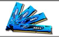 DDR3 32GB PC19200 CL11 G.Skill KIT (4x8GB) 32GAB ARES operatīvā atmiņa