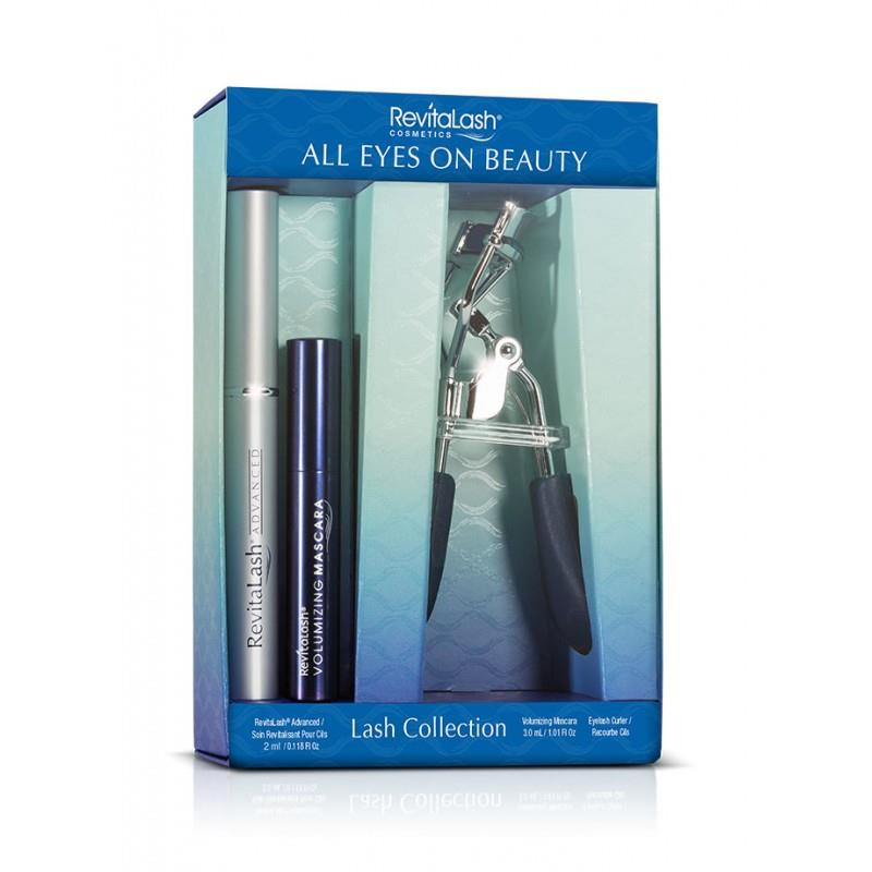 Revitalash  SET Revitalash All Eyes On Beauty (W) Advanced Eyelash Conditioner 3,5ml + Volumizing Mascara-Raven skropstu tuša