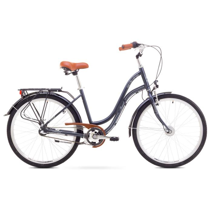 ROMET POP ART 26  CITY 17-M R26 GARFĪTS Pilsētas velosipēds