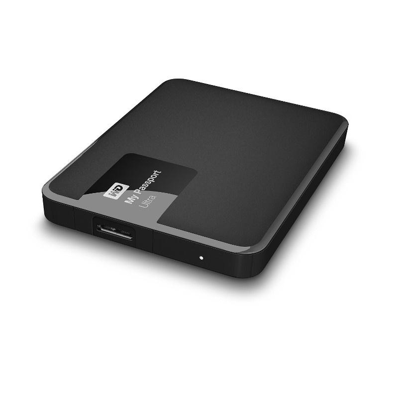 WD My Passport Ultra 2.5'' 1TB USB3 Black Ārējais cietais disks