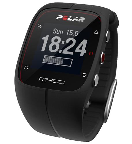 Polar M400 HR black sporta pulkstenis