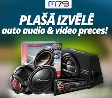 Auto audio aksesuāri