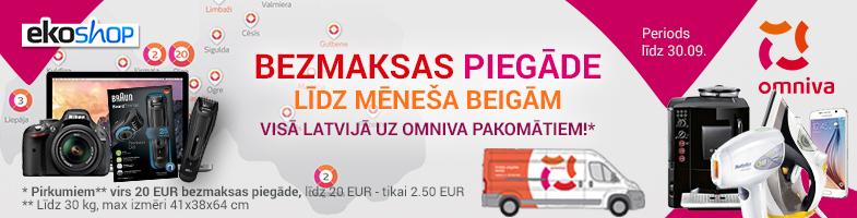 Bezmaksas piegāde visā Latvijā!