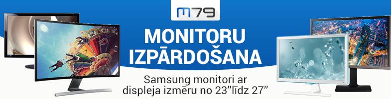 Izpārdošana Samsung monitoriem