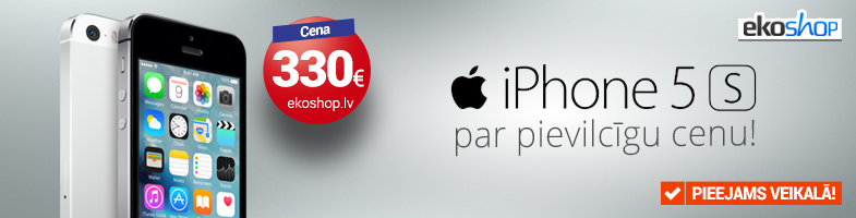 Apple iPhone 5s par pievilcīgu cenu!