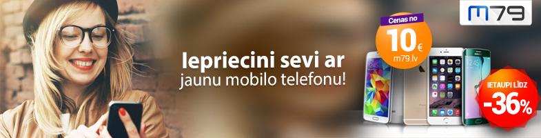 Iepriecini sevi ar jaunu mobilo telefonu!