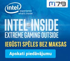 Intel Inside - spēles dāvanā