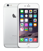 Apple iPhone 6 Silver White 64GB Mobilais Telefons