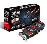 ASUS R9270X-DC2-4GD5 / Radeon R9 270X / PCIE 3.0 / 4GB GDDR5 video karte