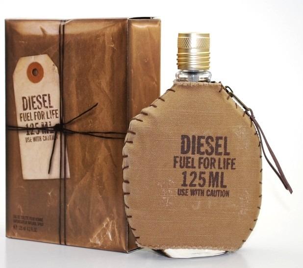 Diesel Fuel For Life Homme Eau de Toilette  125 Men Vīriešu Smaržas