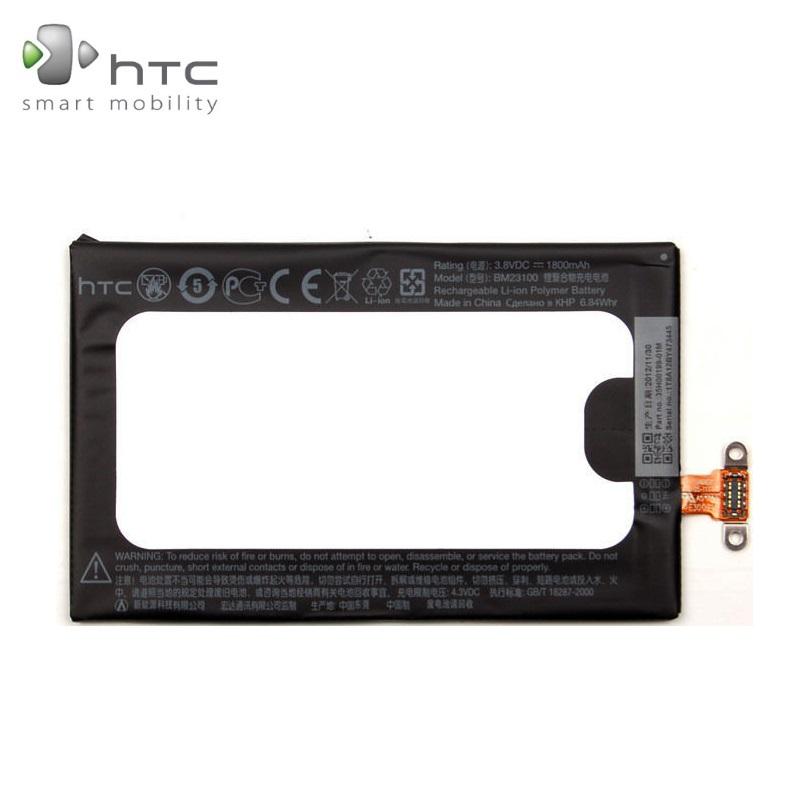 HTC BM23100 Original battery for 8X C620 C625 Li-Ion 1800mAh akumulators, baterija mobilajam telefonam
