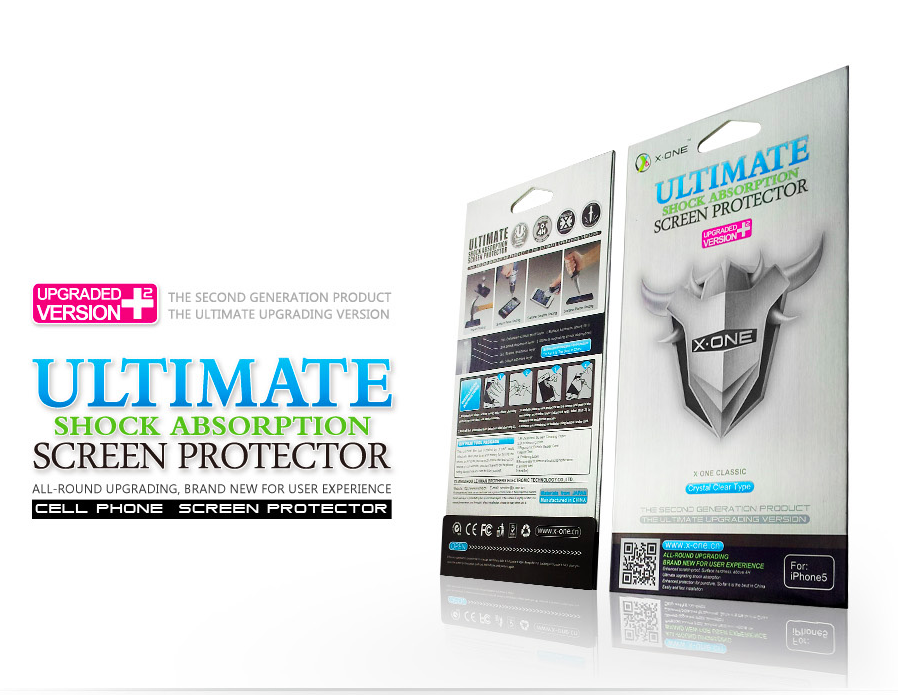 X-One Pro HD Quality HTC 601n One Mini Screen protector aizsardzība ekrānam mobilajiem telefoniem