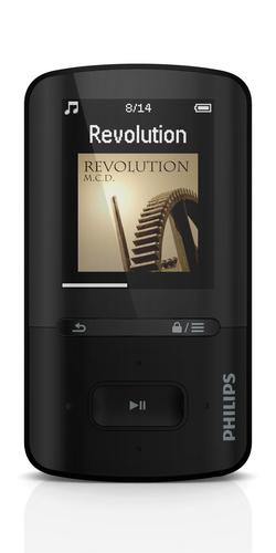 PHILIPS SA4VBE08KN/12 MP3 atskaņotājs
