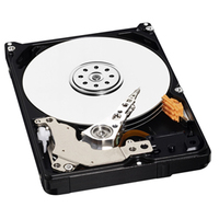 WD Blue Mobile HDD 500GB SATA 6Gb/s 7mm cietais disks