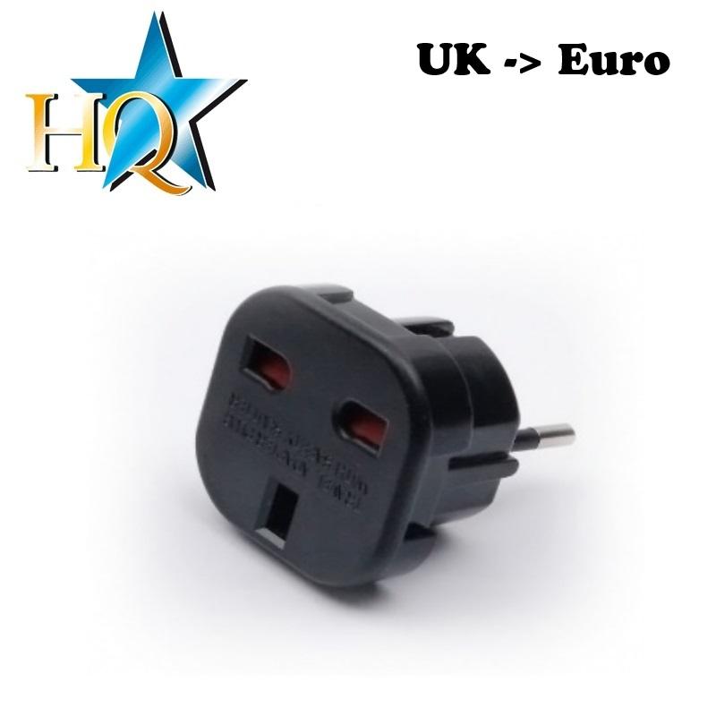 Strāvas ligzdas pāreja UK (United Kingdom) to Europe standart aksesuārs mobilajiem telefoniem