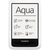 POCKETBOOK Aqua 6inch 4GB flash White Elektroniskais grāmatu lasītājs