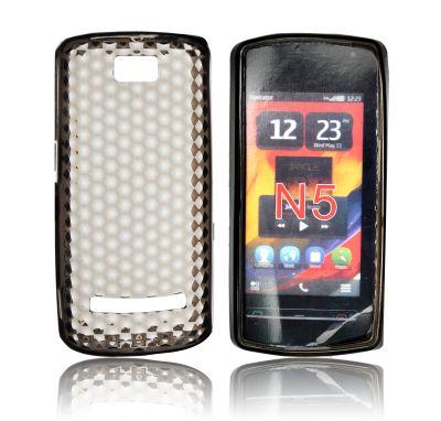 Forcell Nokia 600 / N5 gumijots telefona maks aksesuārs mobilajiem telefoniem