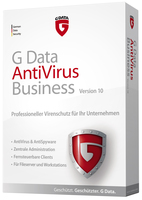 G-Data Antivirus Business, NEW electronic license, 1 year, 2 programmatūra