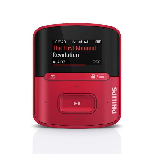 PHILIPS SA4RGA04RF/12 MP3 atskaņotājs
