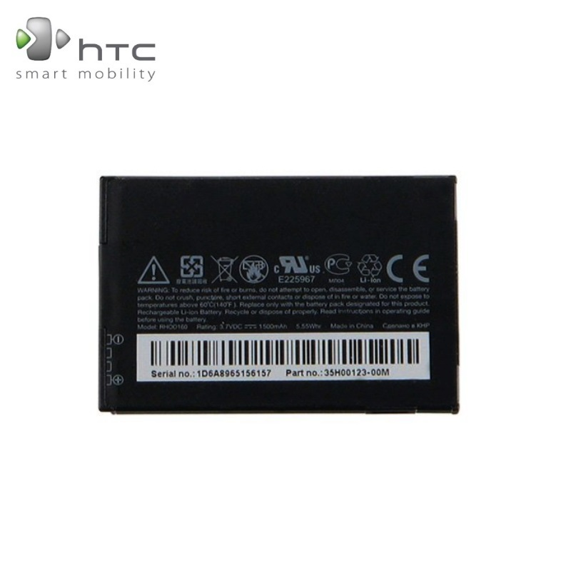 HTC BA S390 Original Battery for S520 Snap Touch Pro 2 Li-Io akumulators, baterija mobilajam telefonam