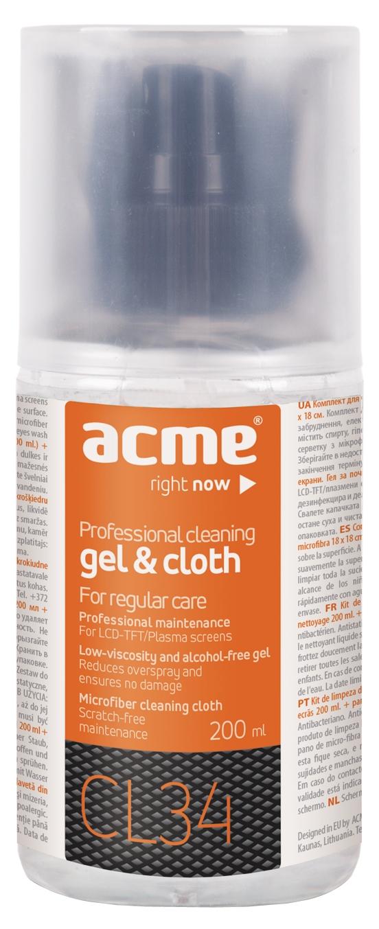 Acme CL34 LCD Screen Cleaning Set tīrīšanas līdzeklis
