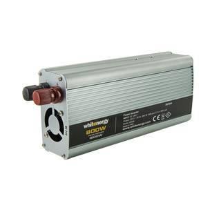 Whitenergy Power Inverter DC/AC from 24V DC to 230V AC 800W, USB Strāvas pārveidotājs, Power Inverter